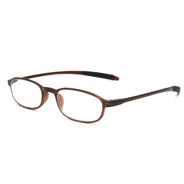 YOOSKE Ultra-light TR90 Reading Glasses Women Men Thin Mini Memory frame Unbreakable Reading Eyeglasses with Diopter +1.0 +4.0-modlily