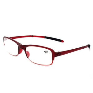 Fashion HD Aspheric Resin Reading Glasses Folded Presbyopic Folding Reading Eyeglasses Female Male Eyewear 1.5 2.0 2.5 3.0 3.5-modlily