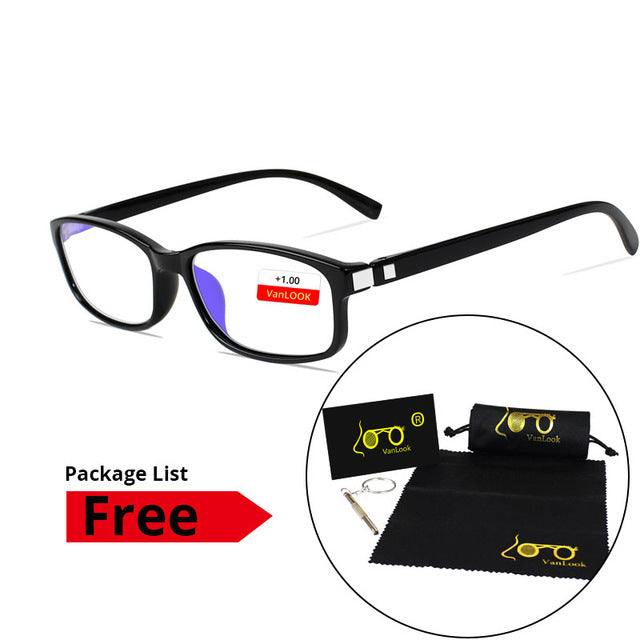 Anti Blue Ray Reading Glasses Computer Lenses for Women Spectacles Men Eyeglasses Gafas de Lectura +1.0 +1.5 +2 +2.5 +3 +3.5 +4-modlily