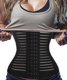 Slimming Waist Trainer Cincher Fitness Corsets Shapewear Fat Burner Wrap Belt Body Shapers Postpartum Girdles Tummy Control-modlily