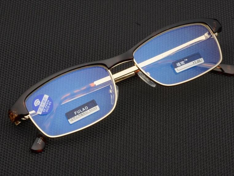 New reading glasses UV400 Anti-Blu-ray radiation glass Women's Men's Fashion Eyewear +1.0 1.5 2.0 2.5 3.0 3.5 4.0-modlily