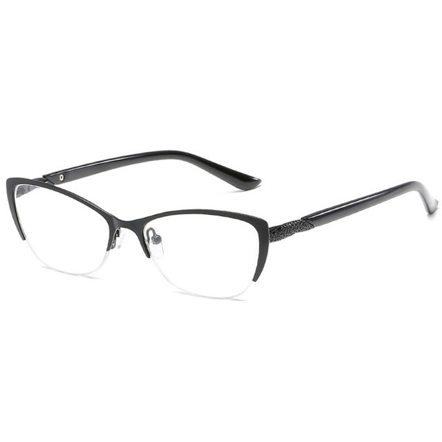 QIFENG Reading Glasses Women High Quality Diopter Presbyopic Female Degree Eyeglasses +1.0+1.5+2.0+2.5+3.0+3.5+4.00 QF074-modlily