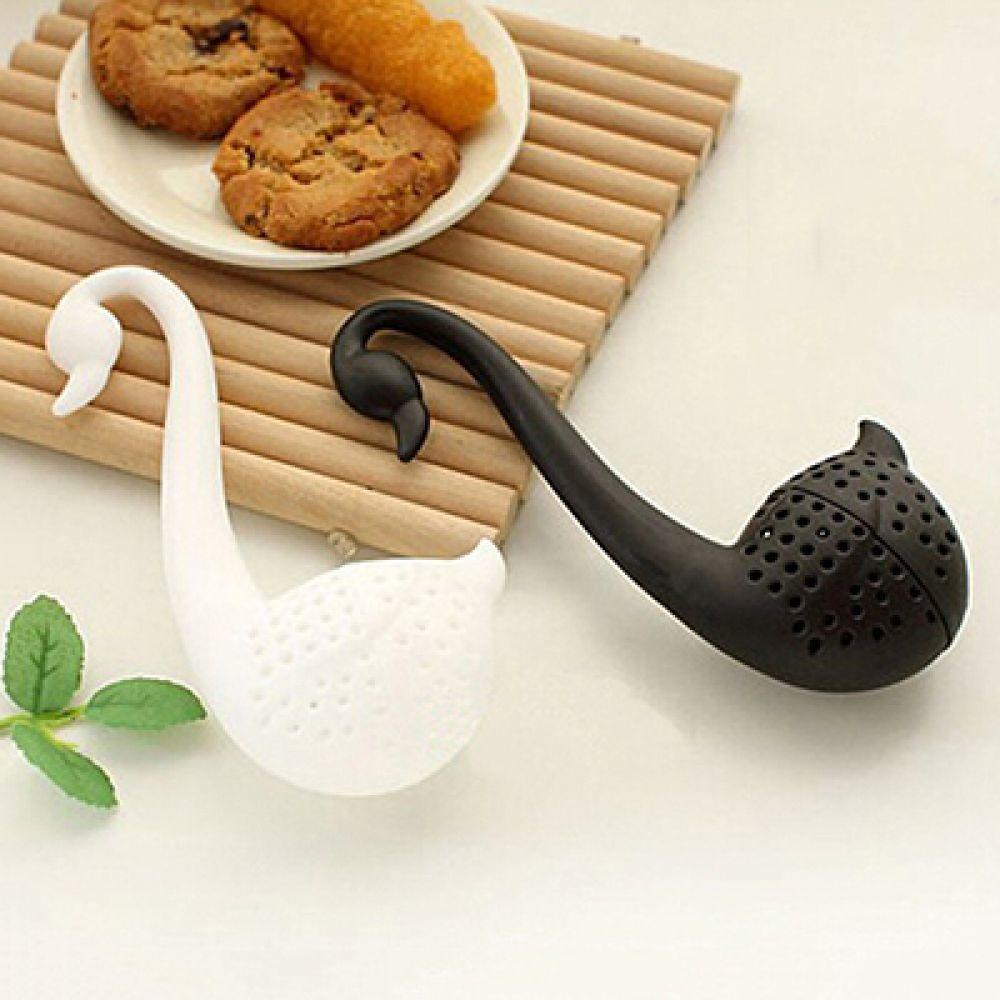 Spoon Tea Strainer Infuser Teaspoon Filter Creative Plastic Tea Tools Kitchen Accessories-modlily