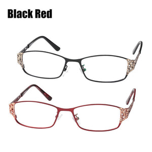 SOOLALA Reading Glasses Women Men Hollow Arm Full Rimmed Reading Glasses Diopter Presbyopic Glasses +0.5 1.5 1.75 2.25 to 5.0-modlily