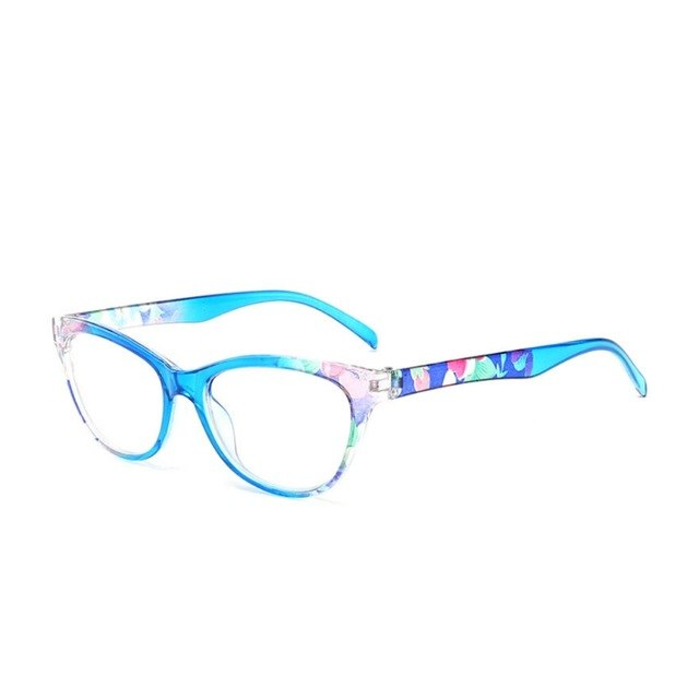 New Women Reading Glasses Vintage Reader Fashion Flower Print +1.00/+1.50/+2.00/+2.50/+3.00/+3.50/+4.00-modlily