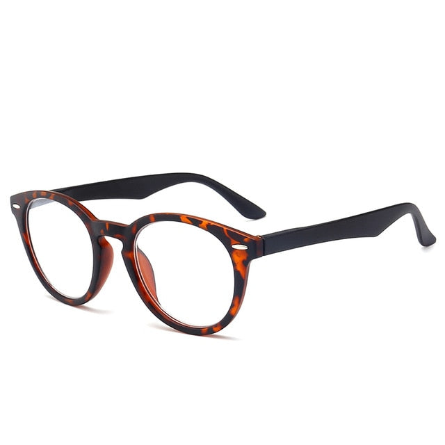 J N Fashion Colors Unbreakable Reading Glasses Women Men Ultralight Anti Fatigue Flower Temple Presbyopic Magnifier TL18157-modlily