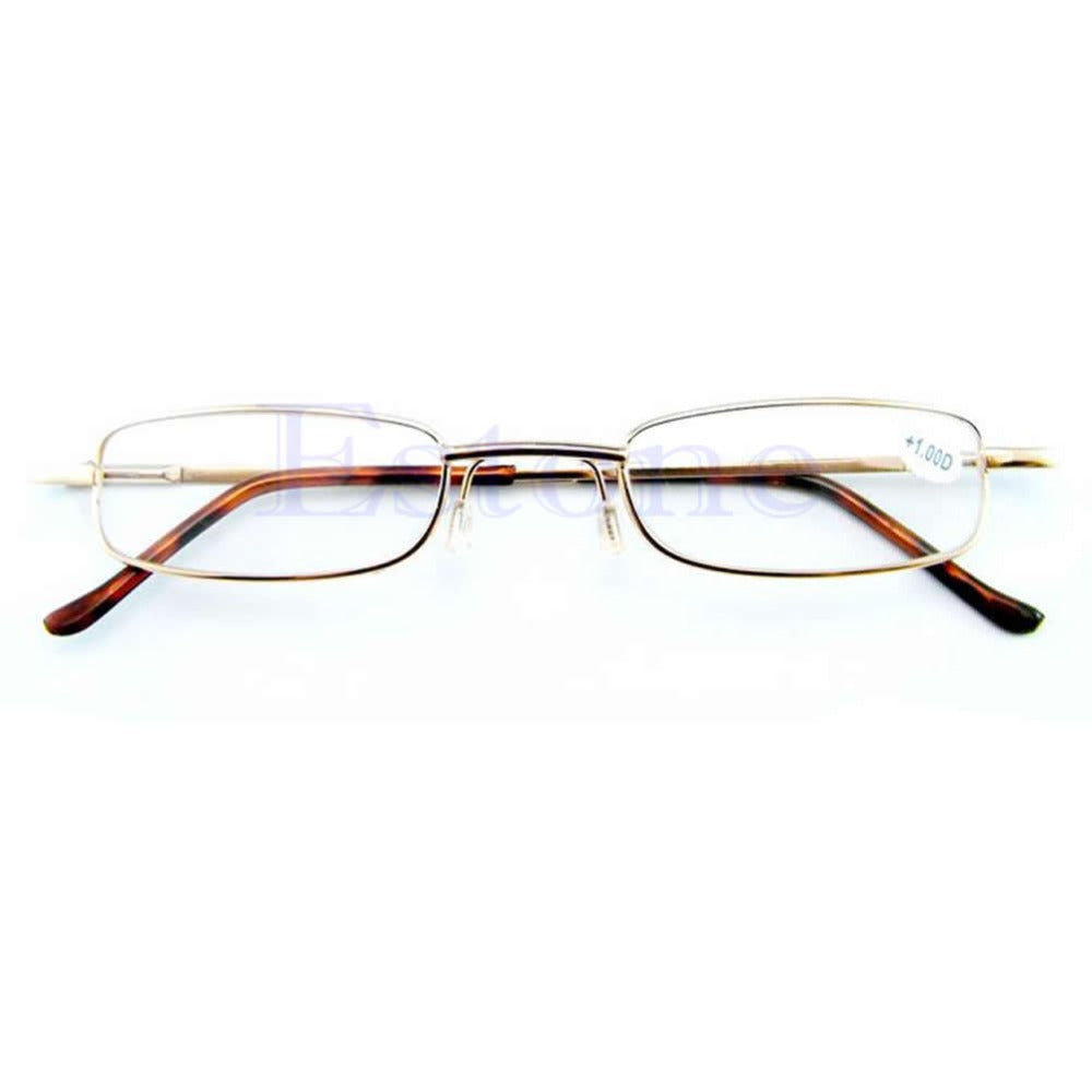 New Comfy Alloy Comfy Reading Glasses Container Presbyopia 1.0 1.5 2.0 2.5 3.0 Diopter oculos de grau oculos leitura-modlily