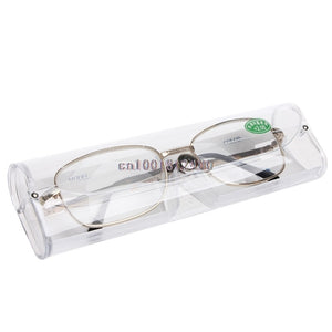 Metal Reading Glasses Hyperopia Glasses Men Women Reading Diopter 1.0 To 4.0-modlily