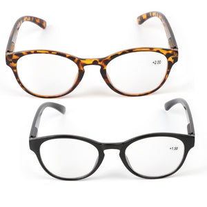 2018 Unisex Spring Hinge Round Reading Glasses Presbyopic Eyeglasses New Fashion Glasses for Men and Women +1.0 -4.0-modlily