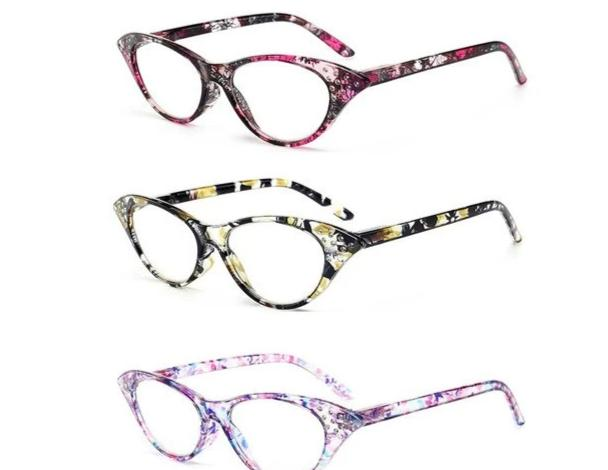 WEARKAPER 4pcs Cat Eye Reading Glasses Presbyopic Eyeglass Spectacles Resin Len 1 1.25 1.5 1.75 2.0 2.5 3.0 3.5 Gafas De Lectur-modlily