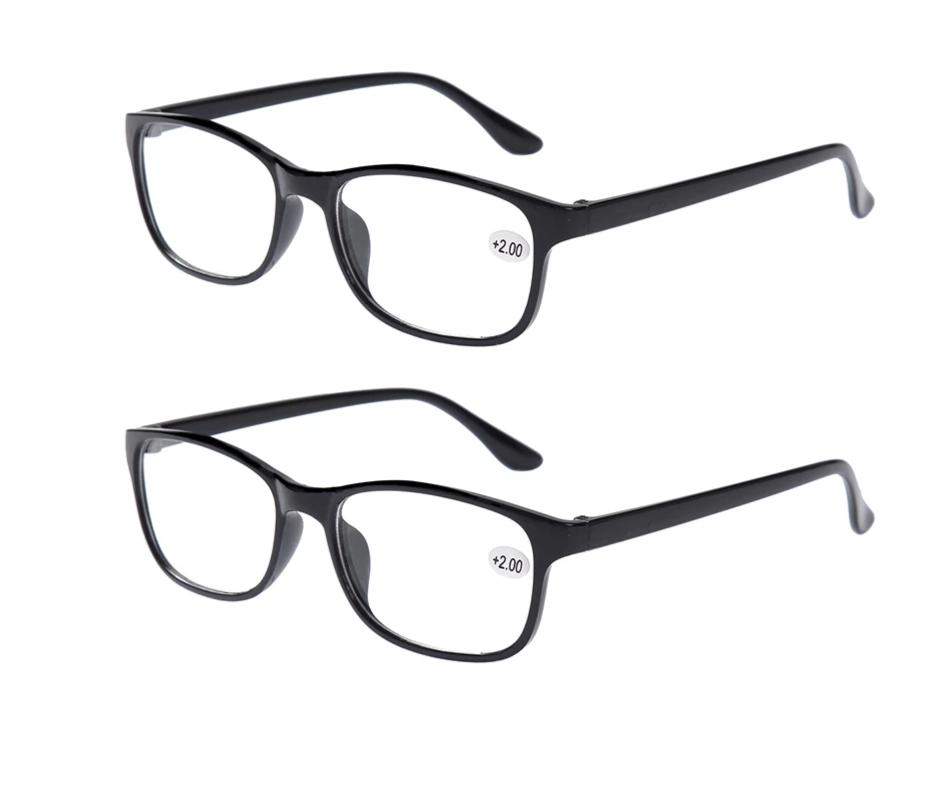 fd3b9ea707b 2x Classic Bifocal Reading Glasses Mens Womens Readers Eyewear Everyday Use  Office Home Spectacles +1.00