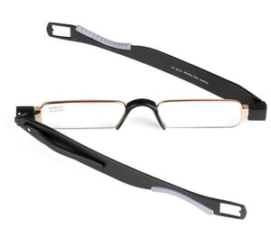 Chashma Brand 360 Degree Glasses Rotating Reading Glasses TR 90 Quality Glasses for Reading-modlily