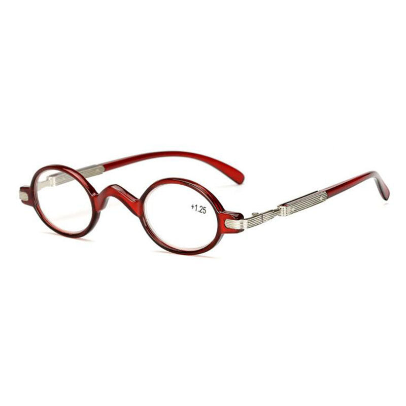 2018 New Fashion Reading Glasses Small Round Reader Glasses Retro Eyewear Women Men Presbyopic Glasses Magnifier Oculos gafas A1-modlily