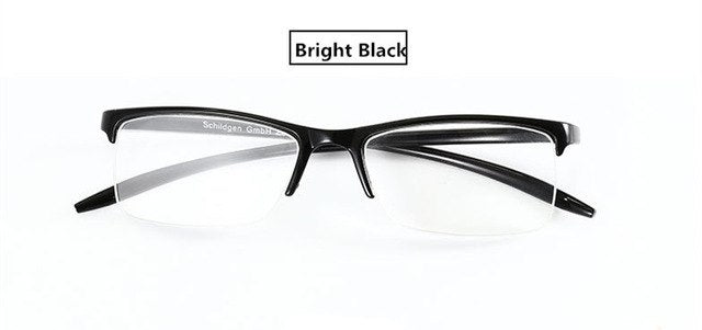 TR90 Frame Resin Lens Clear Glasses Man Women Ultra-light Plastic Frame Slim Reading Glasses Foldable 1.0 1.25 1.5 1.75 2.0 2.5-modlily