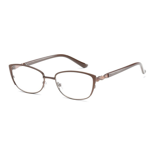 Brand Fashion Women cat eye Reading Glasses Beautiful Optical Glasses for Girls Read Glasses +1.0, +1.5, +2.0, +2.5, +3.0,+ 3.5-modlily