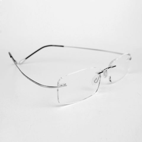 Rolipp Presbyopic glasses reading glasses frame and ultra thin square super elastic metal leg fashion +1.0 to +3.5