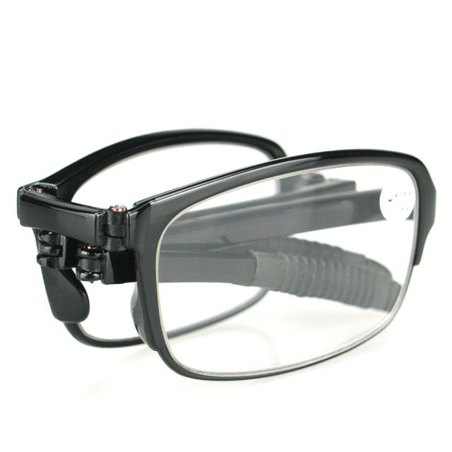 TFJ Portable Lightweigt Foldable Reading Glasses Men Folding Presbyopic Glasses WOMEN Diopter 1.0 1.5 2.0 2.5 3.0 3.5 4.0-modlily
