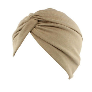 High quality Women Cancer Chemo Hat Beanie Scarf Turban Head Wrap Cap Soft comfortable Cotton Knitted hat lowest Price@casquette-modlily