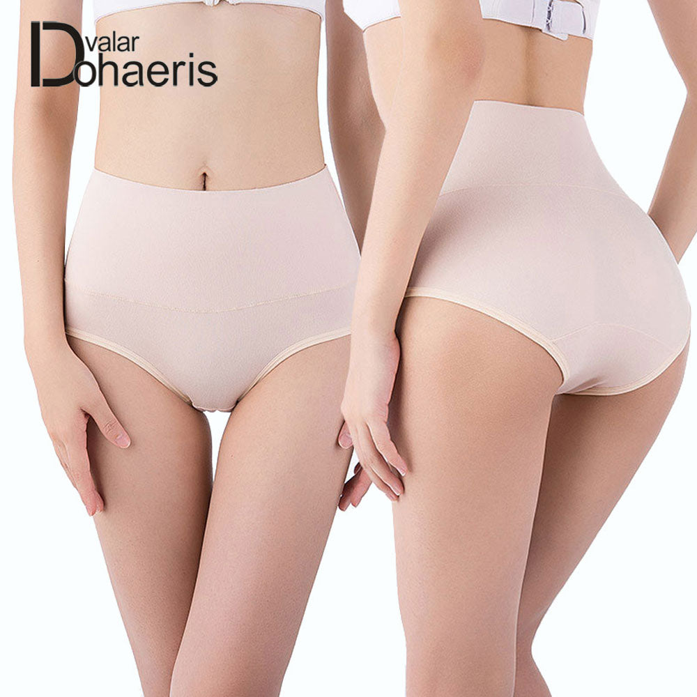 Valar Dohaeris Panties Sexy Intimates Solid Women Underwear Slim Breathable Briefs High Waist Female Underpanties Plus Size-modlily
