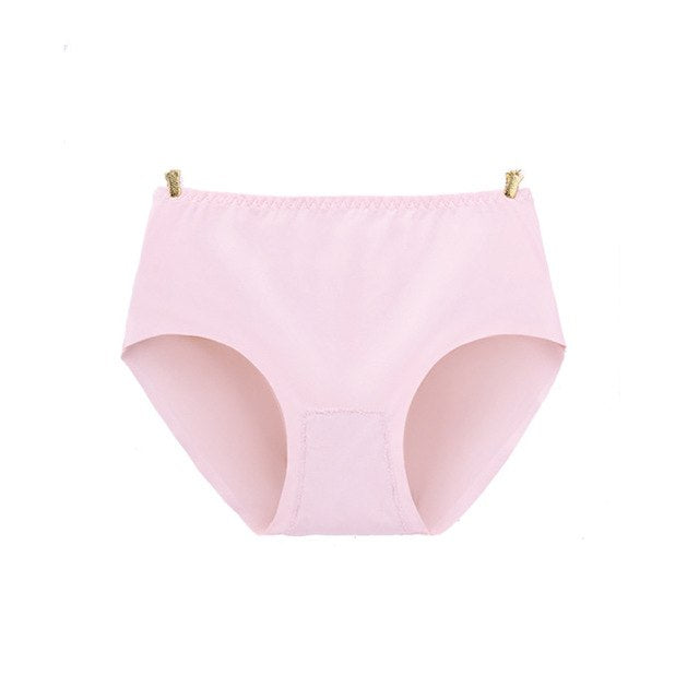 Toppick Sexy Panties Women Seamless Panties Solid Underwear Women G String lingerie Ice Silk Soft Cozy Briefs Culotte Femme-modlily