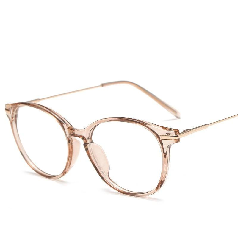 Women Eyeglasses Transparent Myopia Optical Computer Glasses Frame Brand Design Plainmodlilj-modlily