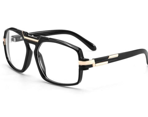 969c6d0a0cb84 Luxury Retro Square Clear Lens Glasses Men Brand Designer Vintage  Blackmodlilj-modlily