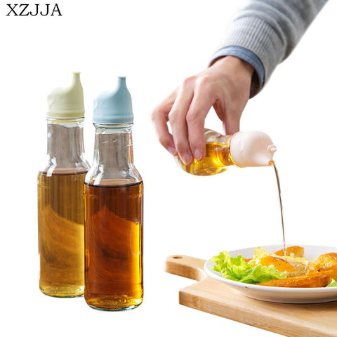 XZJJA Oil Bottle Mouth Stopper Creativity Sauce Bottles Nozzle Caps Wine Stopper Pour The Liquid Guiding Device Kitchen Tool-modlily