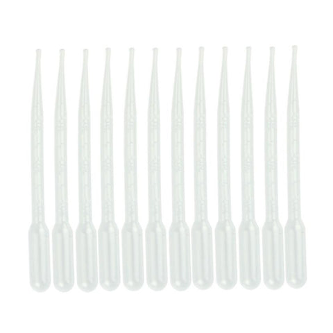 Zero Voberry Plastic Transfer Pipettes 3ml - 12pcs-modlily