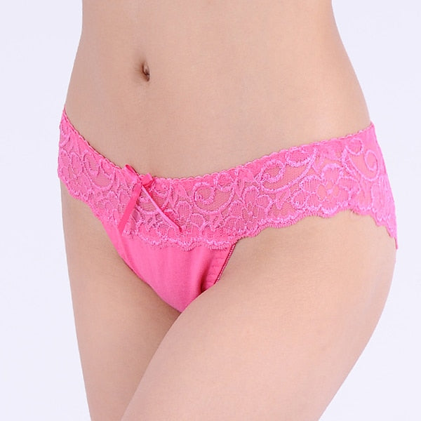 Women's panties Butt Lifter Cotton Lace Underwear women briefs bragas 2016 Real Sale women underwear thongs-modlily