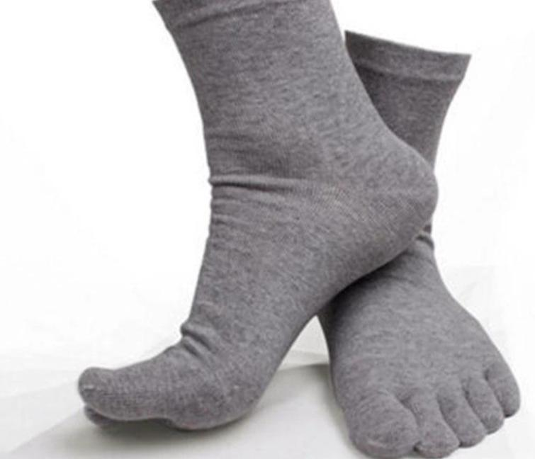 summer men sheer socks white mens five finger socks pure cotton toe socks soks Calcetines Ideal women meias-modlily