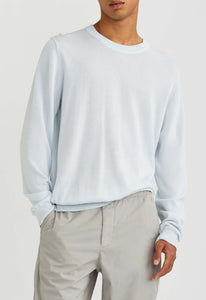 Adida Cotton Cashmere Sweater - Blue Tint