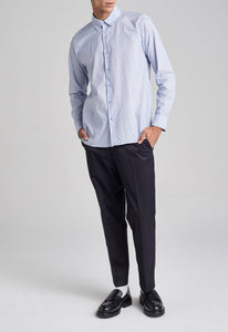 Alvah Shirt - Blue Stripe