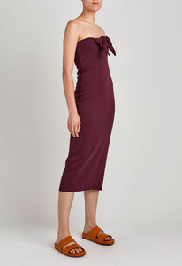 Amara Dress - Dark Plum