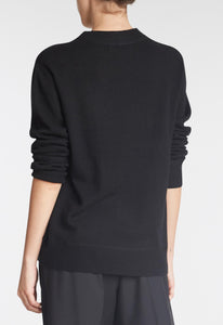 Aries Cashmere Sweater - Black