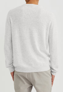 Beckham Cashmere Sweater - Nil Grey