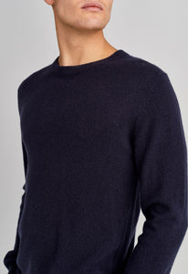Beckham Cashmere Sweater - Navy