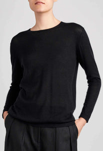 Benson Cashmere Sweater - Black