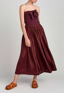 Bloom Skirt - Dark Plum