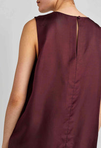 Carla Top - Dark Plum
