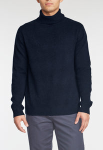 Chio Merino Turtleneck - Dark Navy