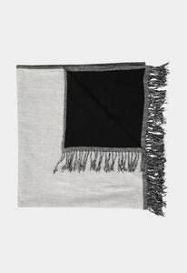 Citico Beach Towel - Black/Natural
