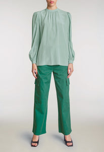 Clement Silk Blouse - Irish
