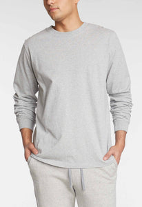 Coats Cotton Tee - Heather Grey Marle