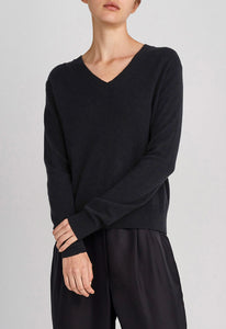 Cripton Cashmere Sweater - Black