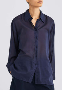 Rocco Shirt - Darkest Navy