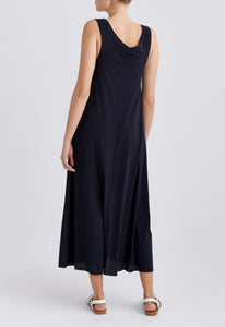 Dawn Dress - Darkest Navy