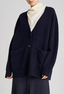 Demm Cardigan - Darkest Navy