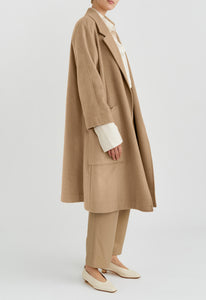 Draper Cashmere Coat - Dark Trench