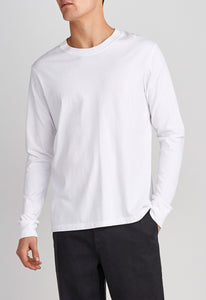 Ewing Cotton Tee - White
