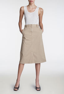 Farrow Twill Skirt - Trench